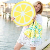 Lemon Squeeze Sun Blanket