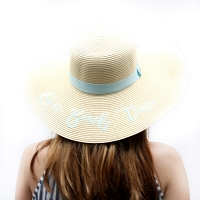 On Beach Time Floppy Hat