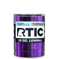 10 oz. RTIC Lowball Candy Purple