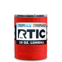 10 oz. RTIC Lowball Red