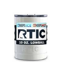 10 oz. RTIC Lowball White