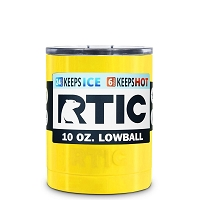10 oz. RTIC Lowball Yellow