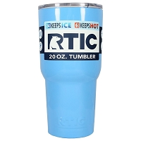 20 oz. RTIC Tumbler Baby Blue