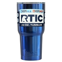 20 oz. RTIC Tumbler Candy Blue