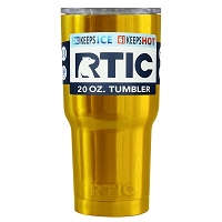 20 oz. RTIC Tumbler Metallic Gold