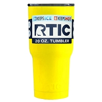 20 oz. RTIC Tumbler Yellow