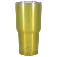 30 oz. RTIC Tumbler Metallic Gold