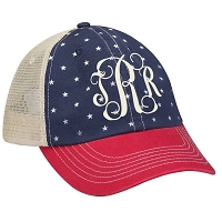 Stars Patriotic Trucker Hat