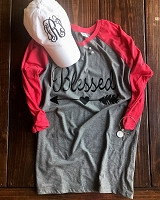 Blessed Raglan Shirt