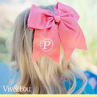 Mongorammed Coral Hair Bow