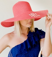 Coral Women's Floppy Hat