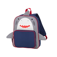 Navy Shark Preschool Backpack