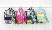 Clear Backpack Collection