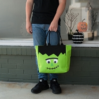 Halloween Frankenstein Trick or Treat Candy Tote