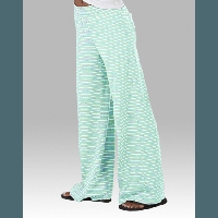 Mint Stripe Margo Pants