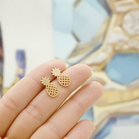 Petite Pineapple Stud Earrings