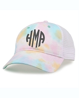 Monogram Tie Dye Trucker Hat