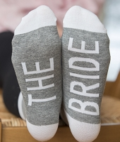 The Bride Wedding Socks