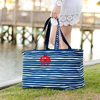 Tidelines Stripe Ultimate Tote