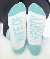WIFE OF THE PARTY SOCKS