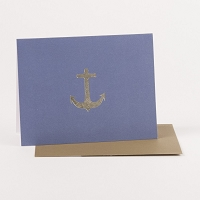 Elegant Anchor Note Cards