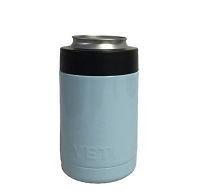 YETI Rambler™ Colster™Coated in Light Blue