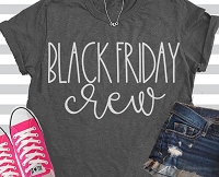 Black Friday Crew T-Shirt