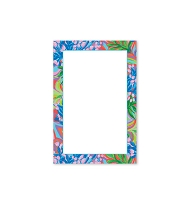 Blue Floral Note Pad