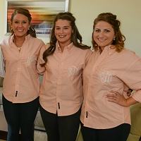 Oversized Classic Oxford Bridesmaids Shirts