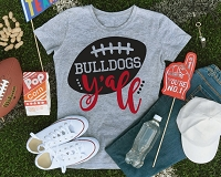 Bulldogs Y'all T-Shirt