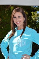 Comfort Color Long Sleeve Monogram Pocket T-Shirt