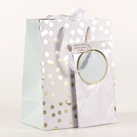 Confetti Gift Bag with Tissue