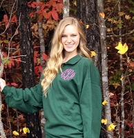 Green Quarter-Zip Sweatshirt Pullover