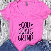 God Goals Grind T-Shirt