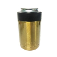 YETI Rambler™ Colster™Coated in Gold