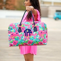 Grace Floral Weekender Travel Bag