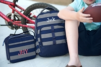 Greyson Stripe Backpack & Lunch Bag SET