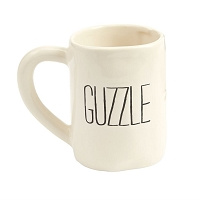 Guzzle Bistro Coffee Mug by Mud Pie