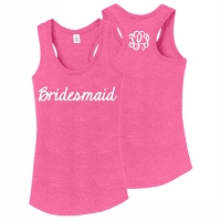 Bridesmaid Racerback Tank