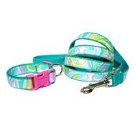 LILLY INSPIRED DOG COLLAR AND LEASH SETS