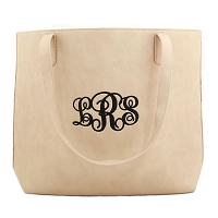 Luxe Large Tote - Beige