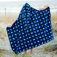 Gettin Crabby Hooded Towel