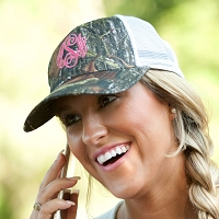 Woods Camo Trucker Hat