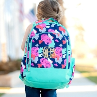 Amelia Floral Backpack