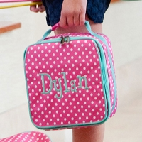 Pink Dottie Lunch Bag