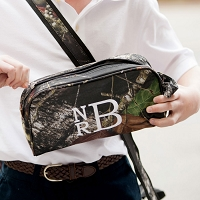 Personalized Woods Camo Toiletry Bag