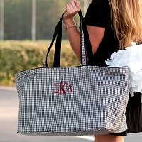 Houndstooth Ultimate Tote