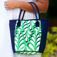 Island Palm Cooler Bag