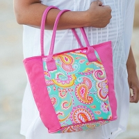 Summer Paisley Cooler Bag