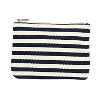 CHANDLER STRIPE ZIPPER POUCH